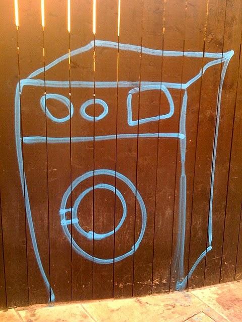 Wasmachine tekening - Marlies Mansveld