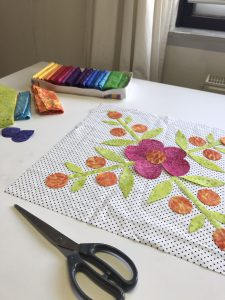 Applicaties Summertime quilt maken