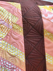 Detail Breakthrough the fence quilt