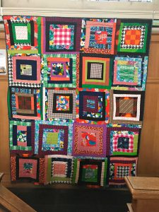 House top variation quilt