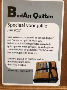 Speciaal voor jullie quilt