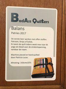 Balans quilt