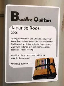 Japanse roos quilt