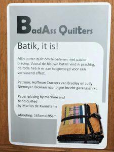 Batik it is!