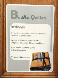 Redneeli quilt