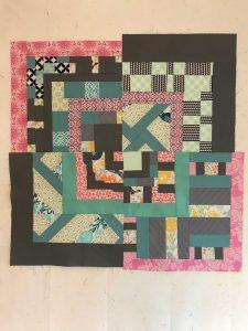 Experiment improvisatie patchwork