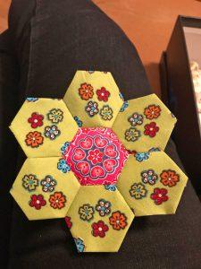 Hexagonnen naaien