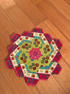 Fussycutting met hexagonnen