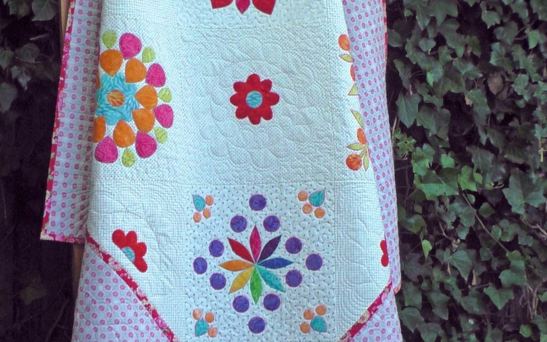 Applicatie quilt - Quiltinspiratie