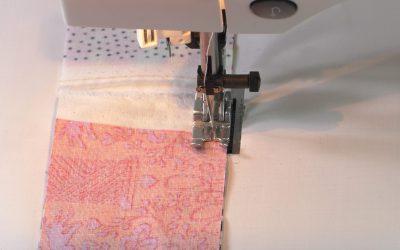 Moet je echt een speciaal patchworkvoetje gebruiken?