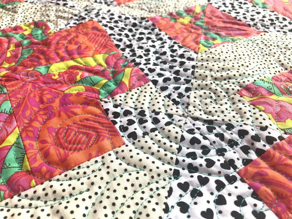 Quiltwerk spiralen - Marlies Mansveld