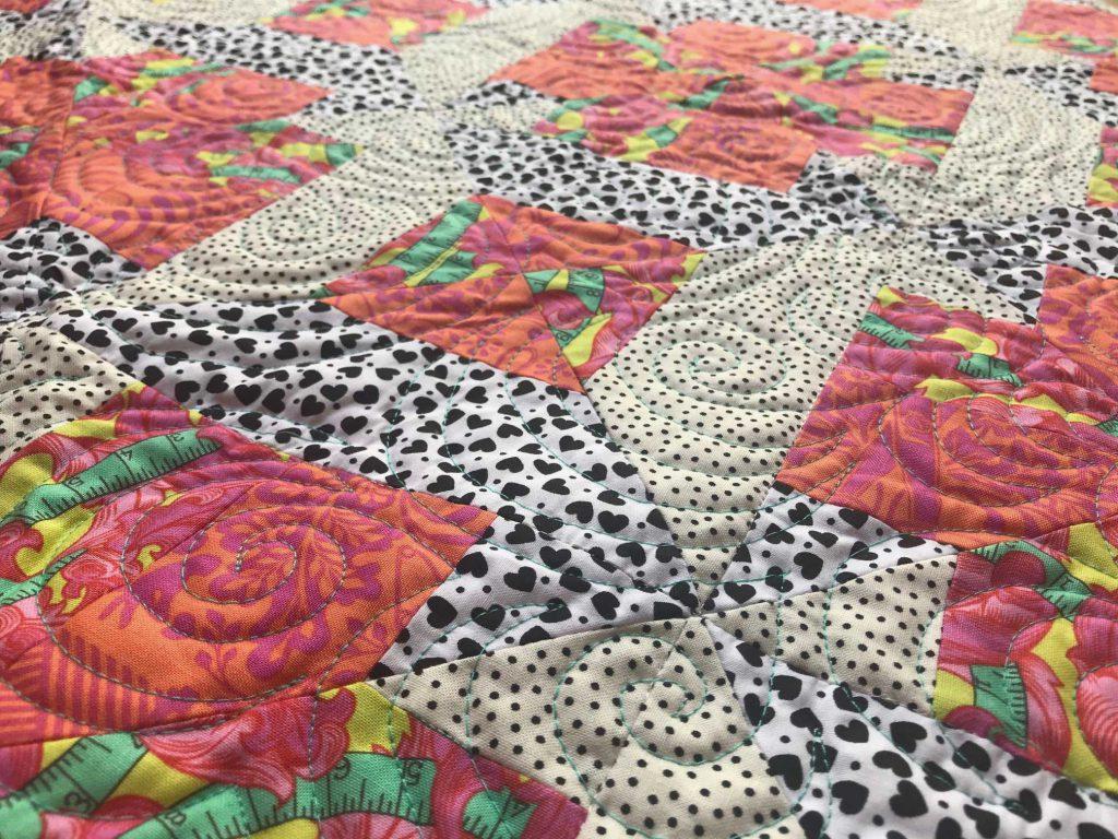 Quiltwerk magische quilt - Marlies Mansveld