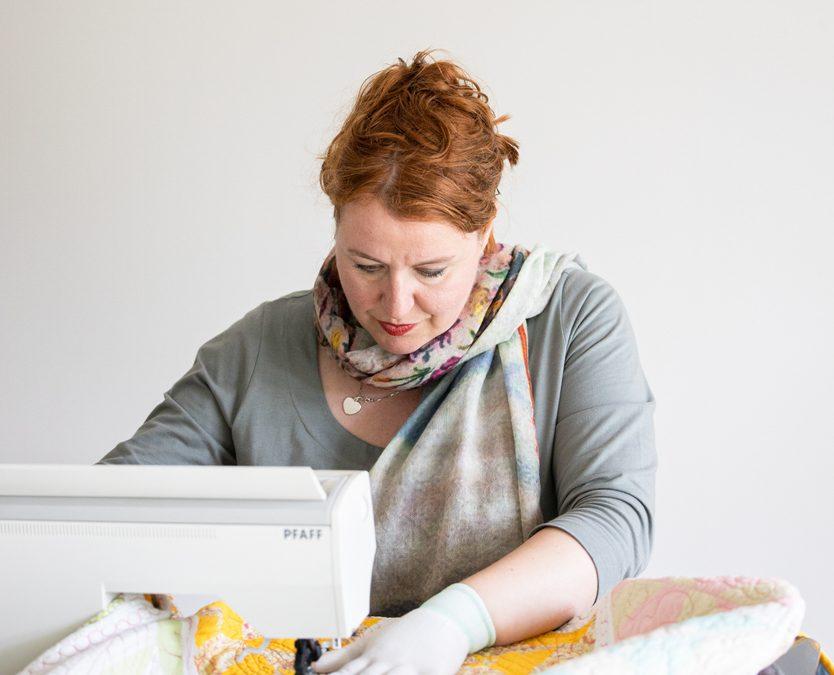 Moet je patronen voortekenen op de quilt of juist niet?