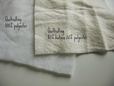 Quiltvulling katoen en polyester - Marlies Mansveld Online Quiltacademie