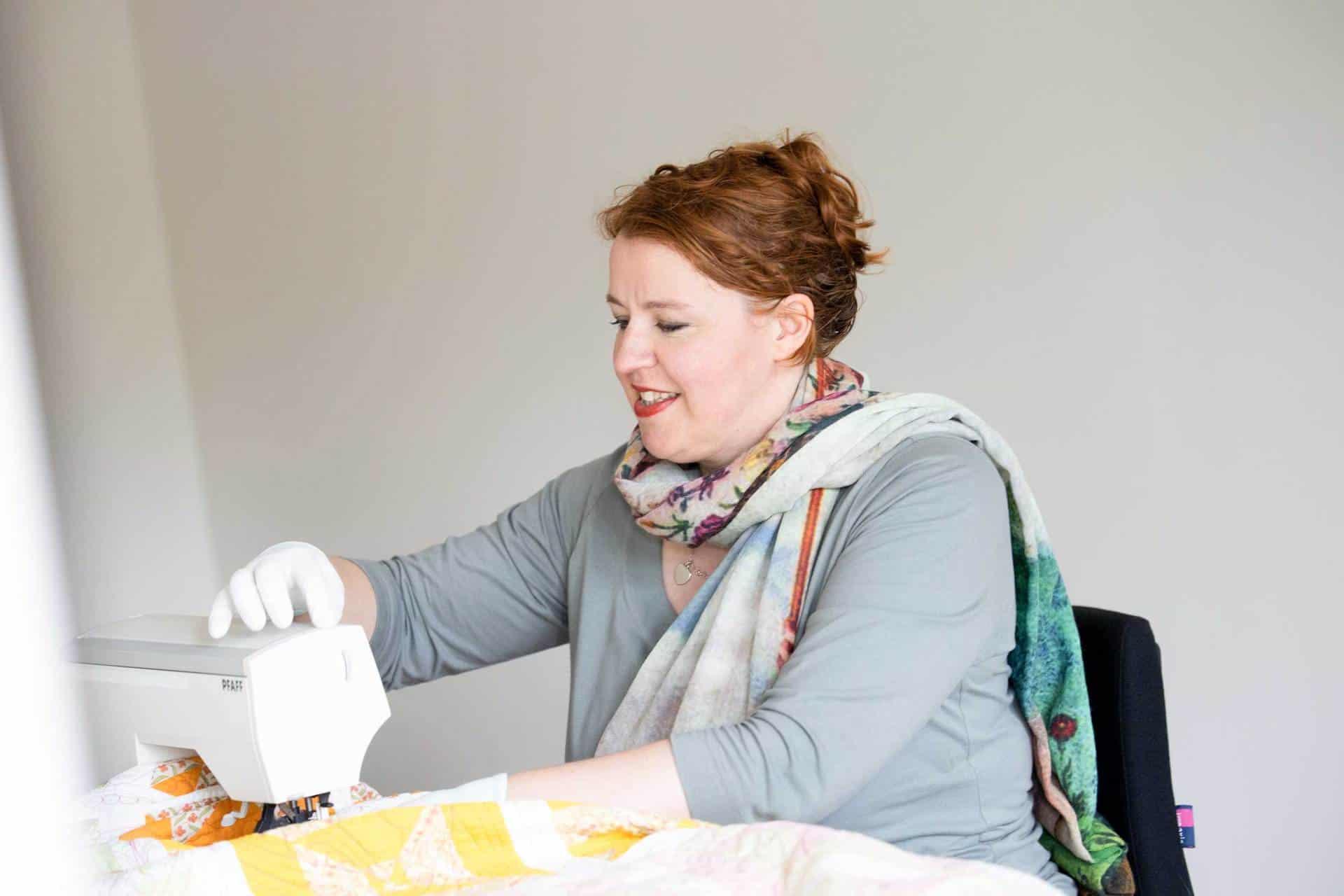 Draadspanning naaimachine - Marlies Mansveld