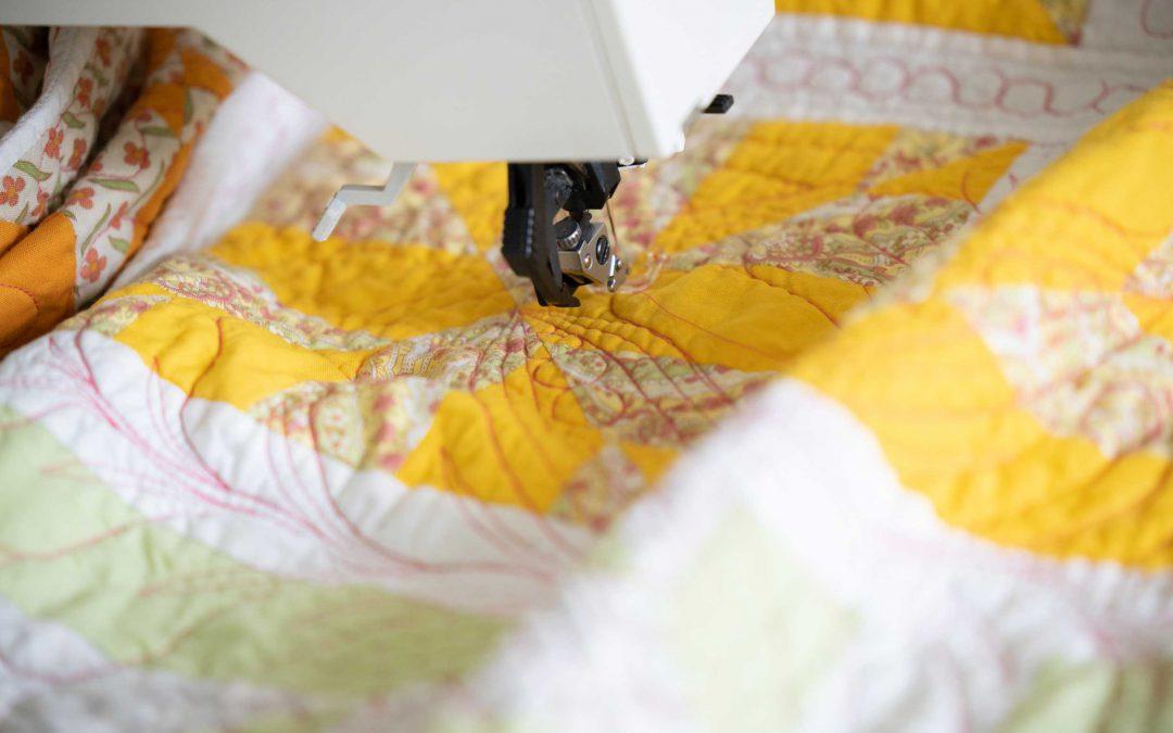 Wat vind je makkelijker? Patchwork naaien of machinaal doorquilten?