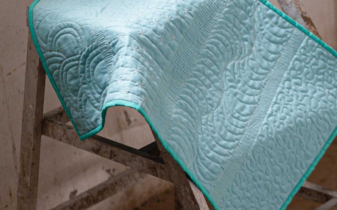 Hoe snel moet je naaien als je gaat quilten uit de vrije hand?