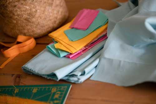Quiltstofjes in leuke kleurtjes - Marlies Mansveld Quiltinspiratie