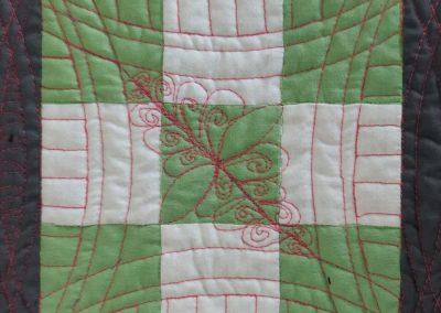 Blok 5 Quilten met linialen - Marlies Mansveld Quiltinspiratie