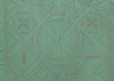 Achterkant 3 quilten met linialen - Marlies Mansveld Quiltinspiratie